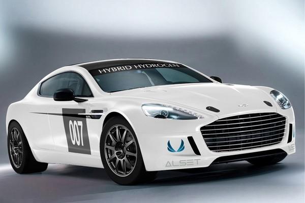 Aston Martin Rapide S - автомобиль с водородно-бензиновым двигателем