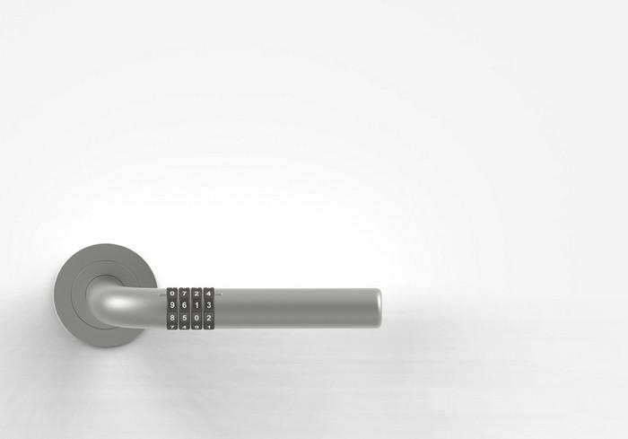 Numlock Handle – дверная ручка с кодовым замком