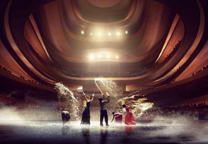 Оперный театр в городе Пусан