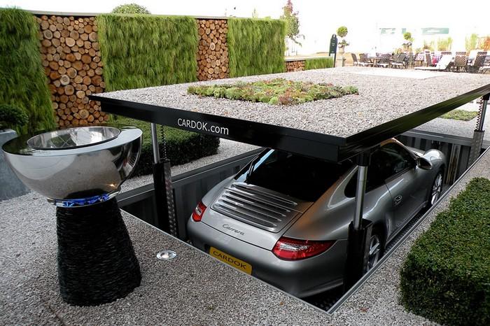 Cardok – подземный паркинг с садом на крыше
