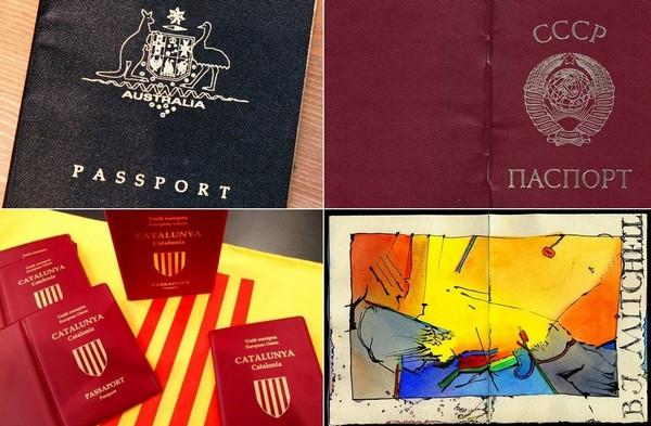 Самые необычные в мире паспорта
