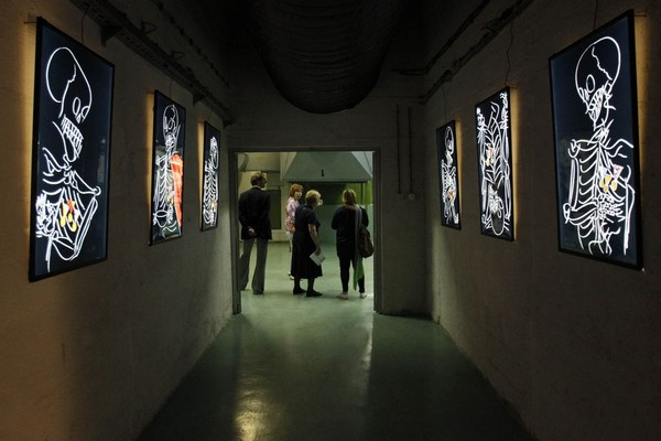 Художественная галерея в подземном бункере в Боснии. Источник фото: Worldartworldtravel