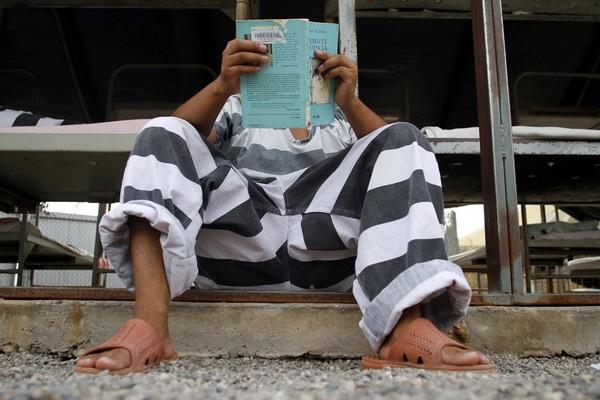 Бразильский тюремный эксперимент по чтению книг. Источник фото: fototelegraf.ru