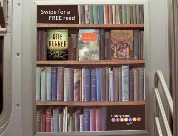 Подземная библиотека Underground Library. Источник фото: 2d-code.co.uk