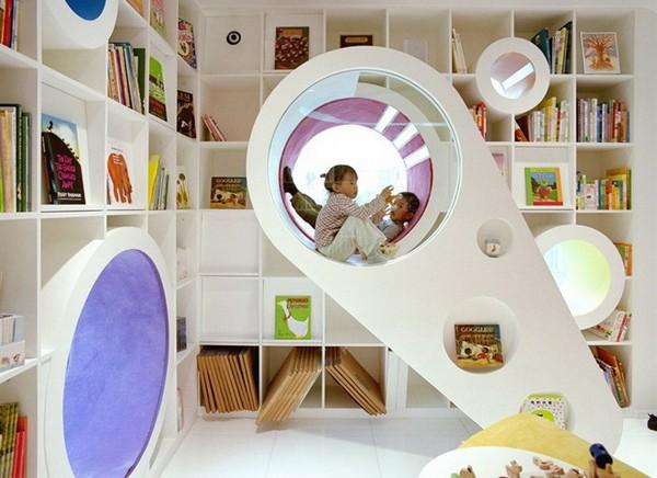 Kid's Republic – увлекательный магазин детской книги в Пекине. Источник фото: designrulz.com