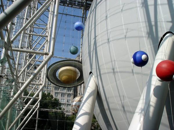 Планетарий Hayden Planetarium в Нью-Йорке