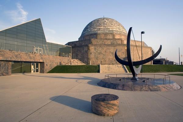 Планетарий Adler Planetarium в Чикаго