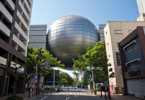 Планетарий в городе Нагоя