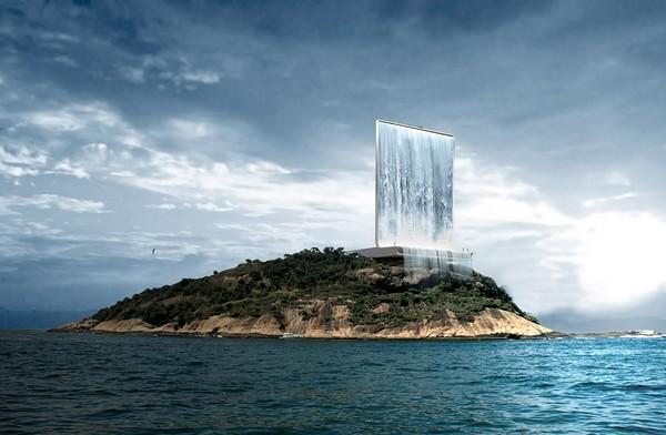 Solar City Tower – солнечная фабрика с водопадом