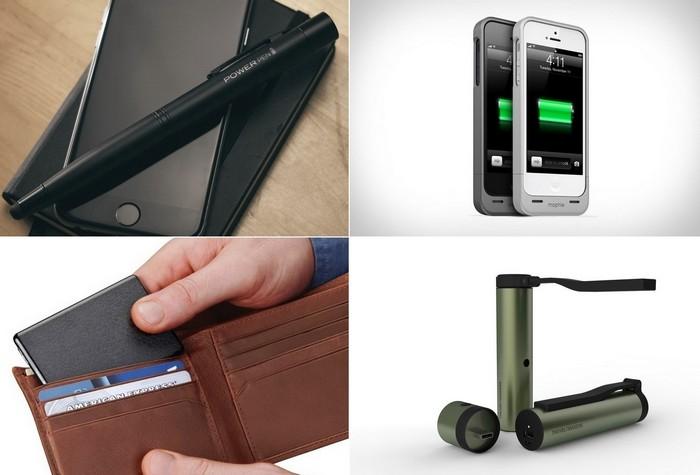 Самые необычные внешние аккумуляторы для смартфонов и планшетов