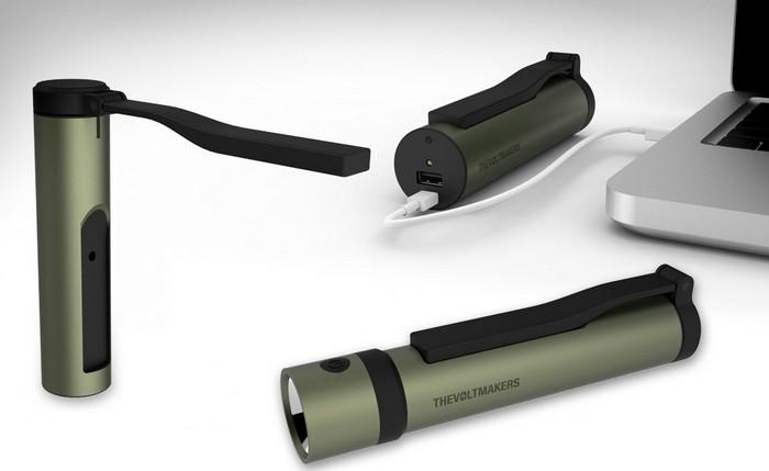 Voltmaker – волшебная палочка для зарядки мобильных телефонов