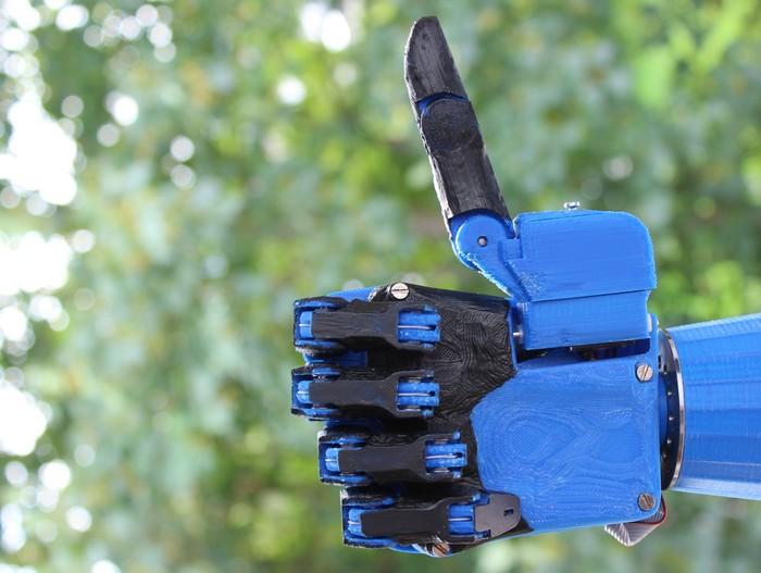 Open Hand Dextrus – самый дешевый электрический протез