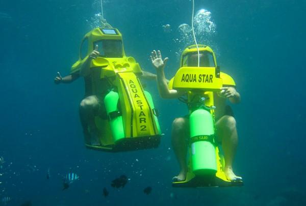 Aqua Star – подводный скутер