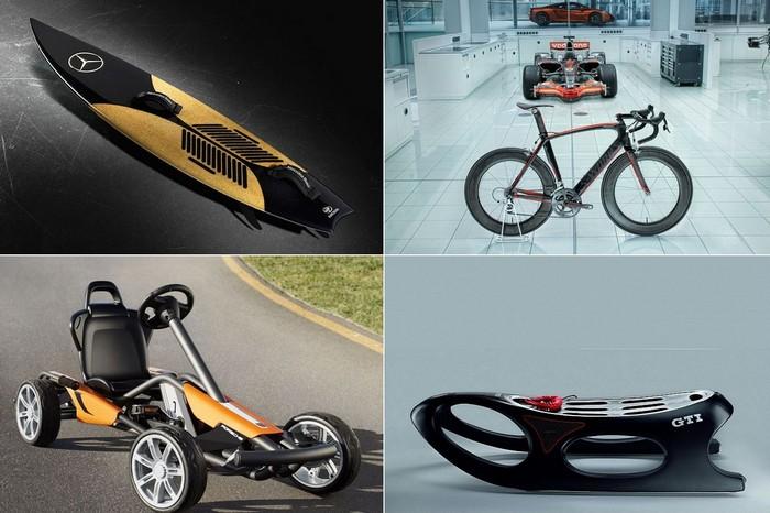 Необычные средства передвижения от известных автопроизводителей