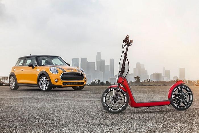 CitySurfer – электрический скутер-самокат от компании MINI