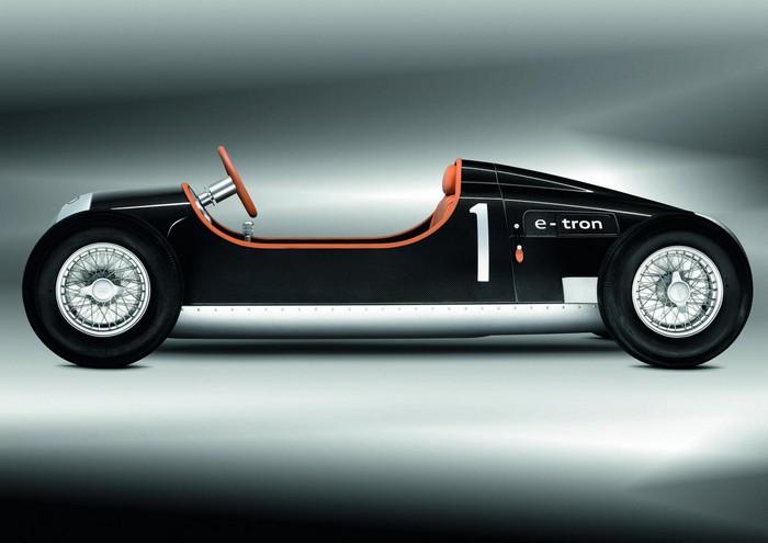 Audi Type C E-tron – электромобиль для детей