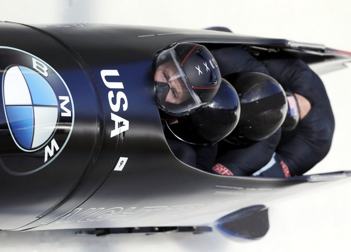 Сани от BMW для сборной США по бобслею