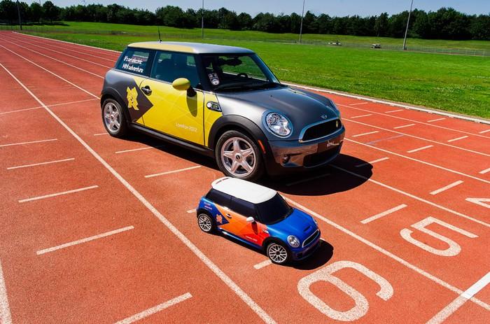 MINI MINI – миниатюрный Mini Cooper в Лондонской олимпиаде