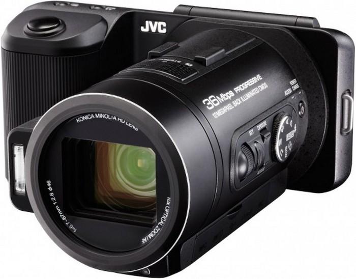JVC GX-PX1 – гибрид фотокамеры и видеокамеры