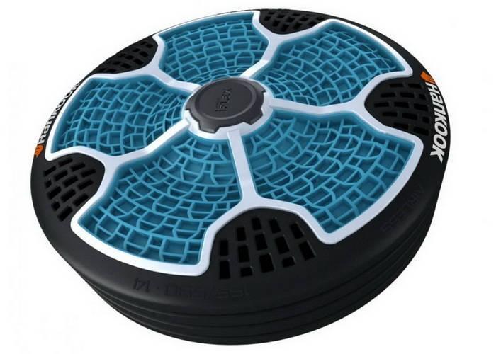 i-Flex - безвоздушное колесо будущего.