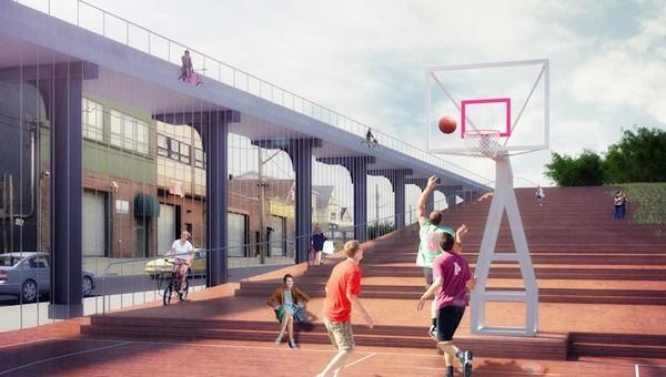 Upside Down Bridge – мост вверх ногами в нью-йоркском районе Квинс. Источник фото: Nooyoon
