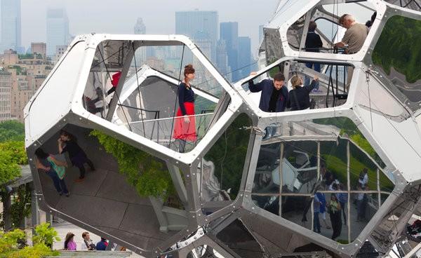 Cloud City – инсталляция на крыше Музея Метрополитен