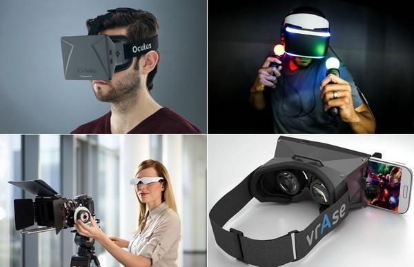 Современные шлемы виртуальной реальности