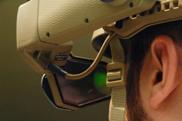 Военный шлем виртуальной реальности DARPA ULTRA-Vis