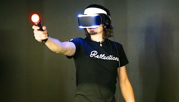 Шлем виртуальной реальности Project Morpheus от Sony