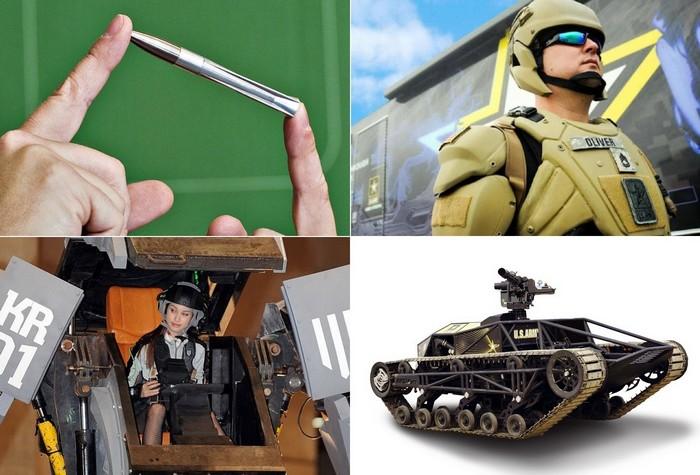 Современные технологии для войн будущего