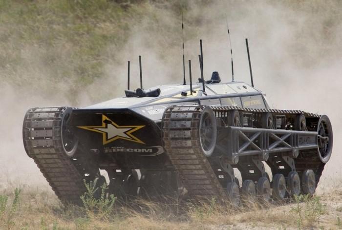 Ripsaw-MS2 – беспилотный танк для армии США