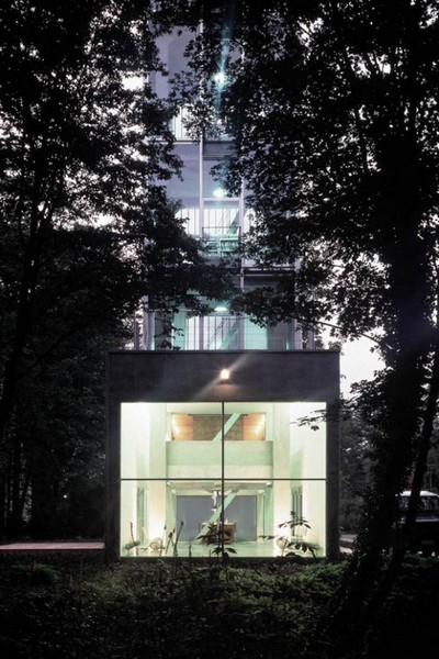 Woning Moereels – жилая водонапорная башня в Антверпене. Источник фото: bitrebels.com