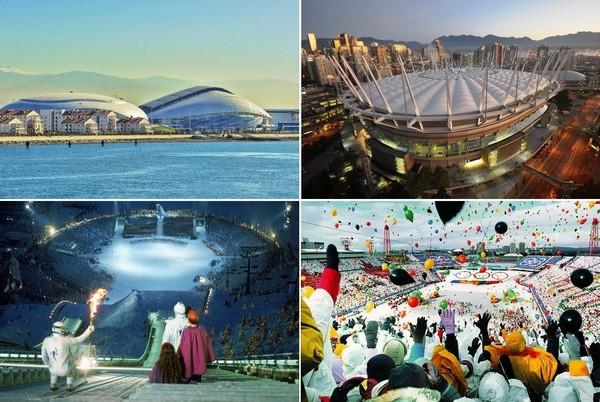 10 стадионов для Зимних Олимпийских игр