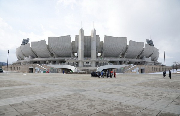 Олимпийский стадион Нагано. Источник фото: gaijingojapan
