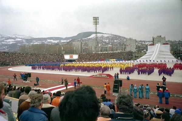 Олимпийский стадион «Асим Ферхатович-Хасе». Сараево. Источник фото: panoramio