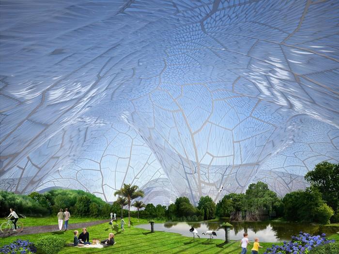 Bubbles – купол, под которым всегда хорошая погода