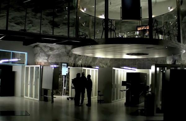 Убежище для серверов в Стокгольме. Источник фото: archdaily.com