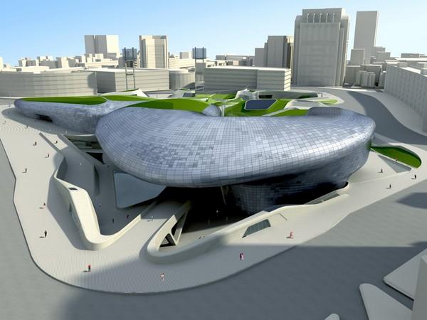 Dongdaemun Design Park & Plaza – самое странное здание в Сеуле. Источник фото: Seoul Design Foundation