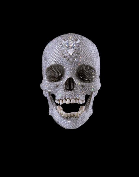 Дэмьен Хёрст (Damien Hirst) – Бриллиантовый череп