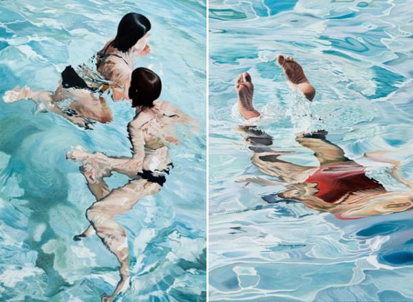 Водный гиперреализм Josep Moncada Juaneda.