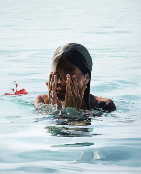 Море в работах Josep Moncada Juaneda.