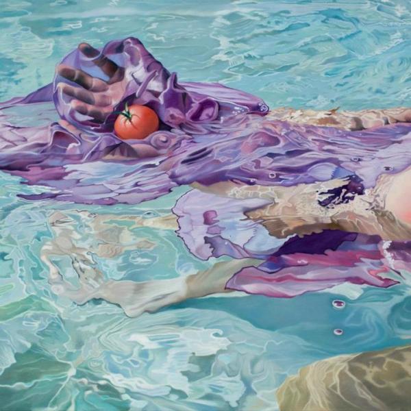 Испанский художник Josep Moncada Juaneda изображает море.
