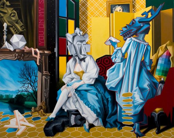 Французский художник Christian Vallee (Kriki).
