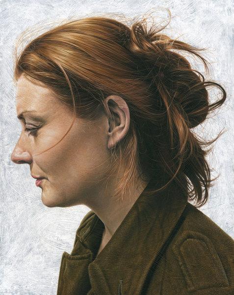 Портреты художника из Британии Steve Caldwell.