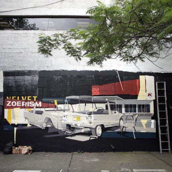 Художник Zoer CSX раньше расписывал стены.