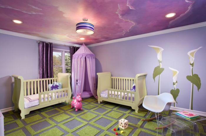 15 интерьеров сказочных детских комнат.