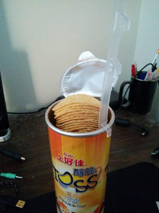 Домкрат для чипсов.
