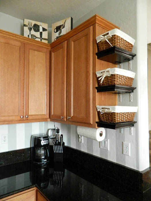 for Counter space small kitchen storage ideas