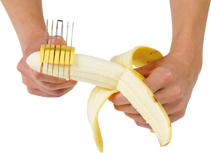 Удобная бананорезка.