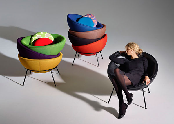 Легендарные кресла The Bowl Chair.